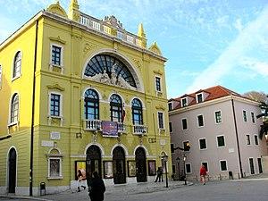 Croatian National Theatre in Split - Croatian National Theatre building in Split