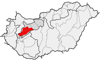 Bakony mountain range