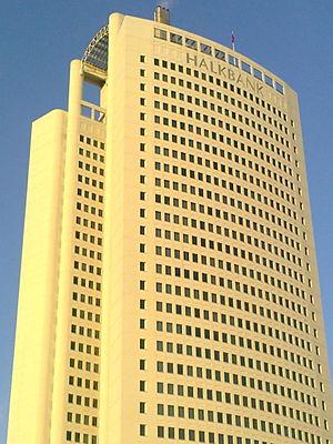 Halk Bankası - Halkbank Headquarters in Ankara