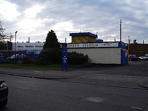 Hall Green Stadium - Image: Hall Green Stadium, York Road, Birmingham geograph.org.uk 95829
