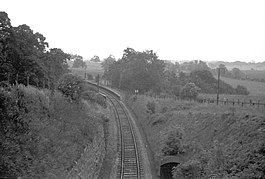 Ham Green railway station in 1960.jpg