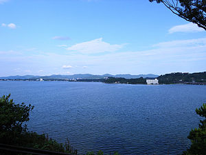 Lake Hamana - A view from Hamanako Service Area