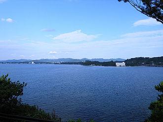 Lake Hamana - A view from Hamanako Service Area