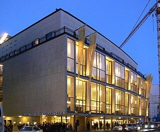 Hamburg State Opera opera building in Hamburg, Germany
