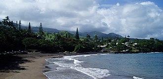 Hana, Hawaii - Image: Hana Beach Park