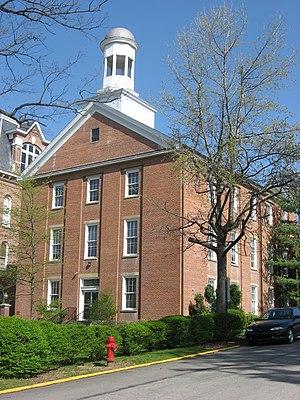 Hanna Hall (Waynesburg University) - Hanna Hall, April 2010