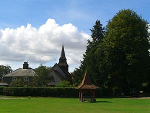 Hannington, Hampshire - Village Green, Hannington