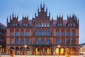 Hannover old townhall Karmarschstrasse Mitte Hannover Germany 01