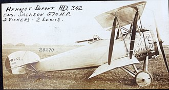 Hanriot HD.3 - Hanriot HD.3 C.2 side