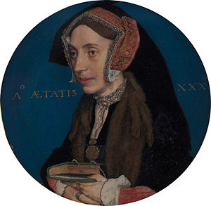 Portrait miniature - Portrait Miniature of Margaret Roper by Hans Holbein the Younger, c. 1535–36