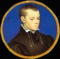 Hans Holbein the Younger - Portrait miniature of a young man (Royal Collection, Netherlands) 2.jpg