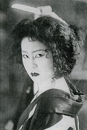 Komako Hara - Komako Hara in Hakuchō himon (1932)