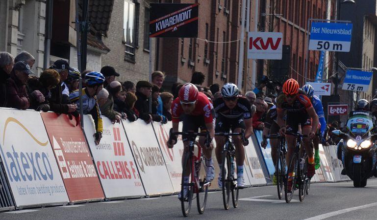 Harelbeke - Driedaagse van West-Vlaanderen, etappe 1, 7 maart 2015, aankomst (A46).JPG
