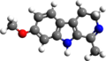 Harmaline 3d structure.png