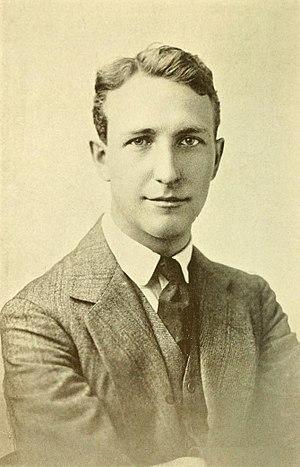 Harold Chapin - Image: Harold Chapin, frontispiece, Soldier and Dramatist, 1917
