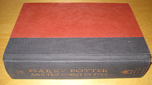 The first American edition of Harry Potter and...