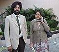 Harvinder Singh and Sukhwinder Amrit Punjabi poets.jpg