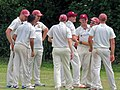 Hatfield Heath CC v. Takeley CC on Hatfield Heath village green, Essex, England 06.jpg