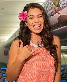 Auliʻi Cravalho American actress and singer
