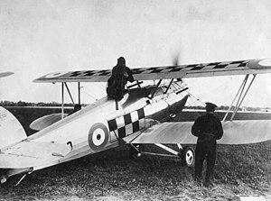 4 Squadron SAAF - Image: Hawker Fury 43sqn