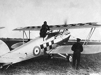 Hawker Fury - 43 Squadron Hawker Fury
