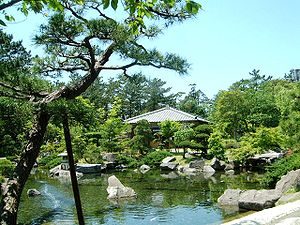 Hayama Imperial Villa - Hayama Shiosai Park, formerly part of the gardens of Hayama Imperial Villa