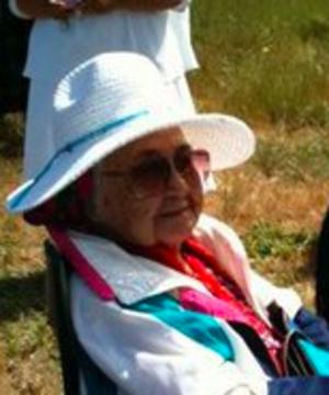 Hazel Sampson - Ms. Hazel M. Sampson in 2011, aged 100