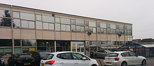 Heanor Gate Science College - Image: Heanor gate science college