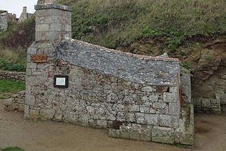 Heated shot - Heated-shot furnace built in 1793 at Fort-la-Latte, France
