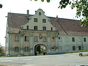 Heggbach Abbey main gate 01