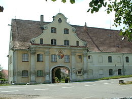 Heggbach Abbey main gate 01.JPG