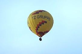 Heißluftballon Aufschrift TZ Gruppe Hot-air-balloon.JPG