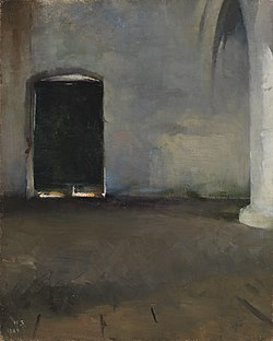 Helene Schjerfbeck - The Door - A IV 3680 - Finnish National Gallery.jpg