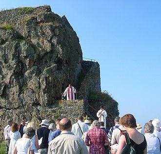 Helier - Helier pilgrimage eucharist 2005