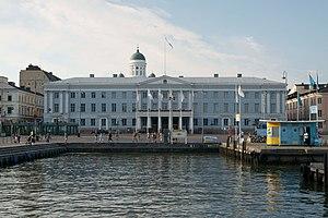 Carl Ludvig Engel - Image: Helsingin kaupungintalo satamasta