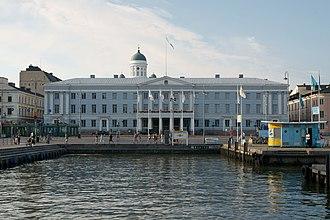 Helsinki City Hall - Helsinki City Hall in 2010