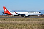 Helvetic Airways, HB-JVN, Embraer ERJ-190LR (32499442462).jpg