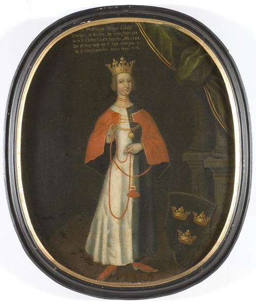 Helvig drottning av Sverige prinsessa av Holstein - Nationalmuseum - 15052