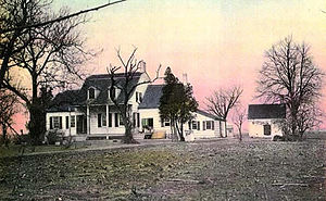 Dutch Colonial architecture (New Netherland) - Various stages of Dutch colonial architecture are evident at the Hendrick I. Lott House