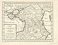 Henri Liébaux. Carte de la Colchide, de l'Ibérie, de l'Albanie et des pays circonvoisins pour servir à l'intelligence de l'histoire romaine. 1729.jpg