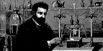 Henri Moissan isolating fluorine 1886 crop.jpg