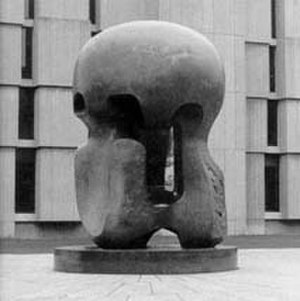 Nuclear Energy (sculpture) - Image: Henry Moore Nuclear Energy