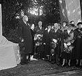 Herdenking van de geboortedag van Paul Kruger te Utrecht in de tuin van het pand, Bestanddeelnr 905-3533.jpg