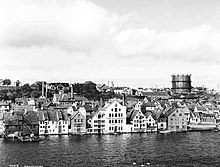Conserveries à Stavanger en 1934 (Photo:Anders Beer Wilse)