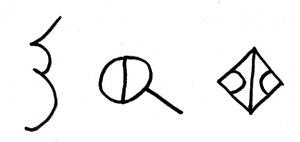 Anatolian hieroglyphs - Image: Hieroglyph Luwian Urartian aqarqi