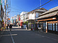 Higashimurayama Akitsu Station Shopping Street 201301.JPG