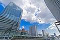 High-rise buildings in the east side of Akihabara Sta. - Fujisoft Akihabara Office, Akihabara Center Place Building, TX Akihabara Hankyu Building, view from Akihabara UX (2017-04-13 03.55.07 by yagi-s).jpg