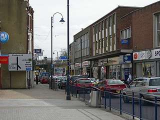 Strood Town in Medway in South East England