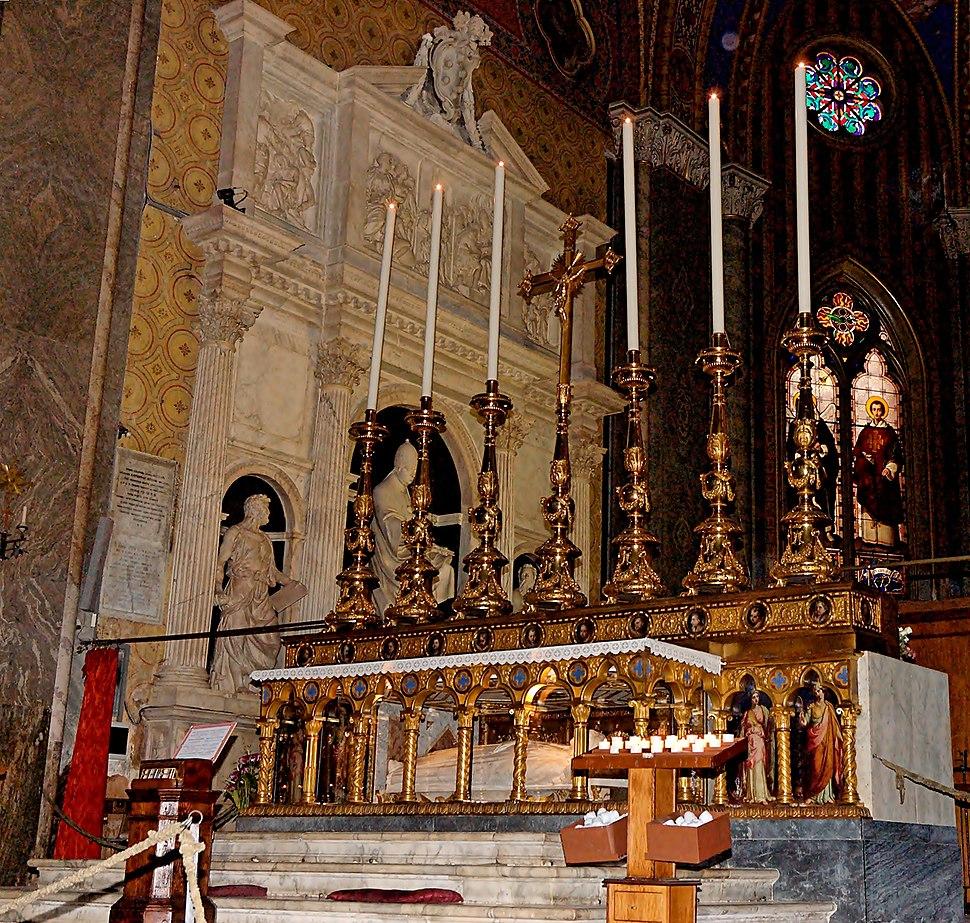 High altar Santa Maria Sopra Minerva