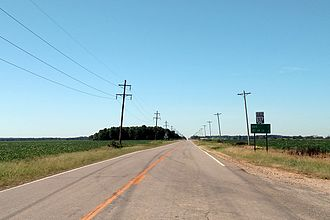 Arkansas Highway 33 - Highway 33 south near Gregory